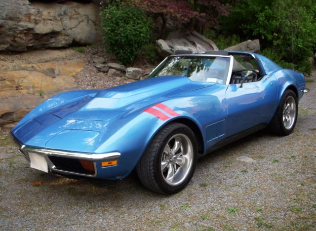 1971 corvette stingray coupe blue exterior black interior 4 speed. Cars Review. Best American Auto & Cars Review