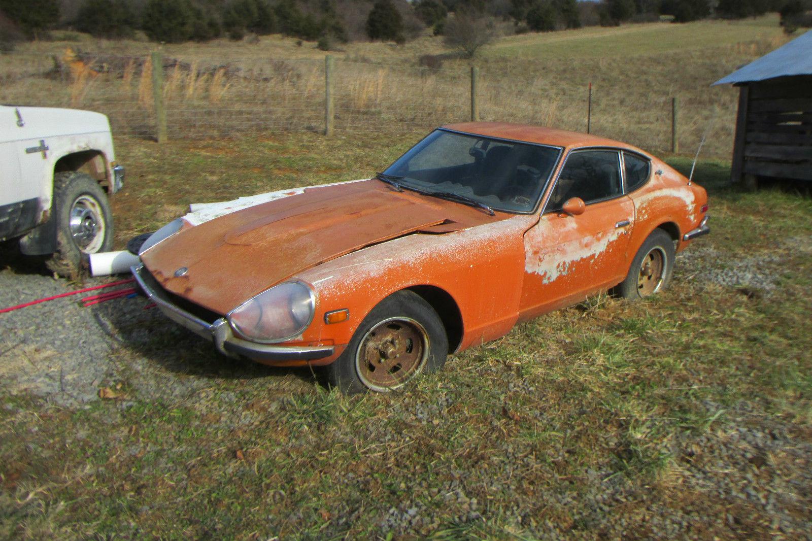 Datsun 240z For Sale California >> 1971 Datsun 240Z restore or parts - Classic Datsun Z-Series 1971 for sale