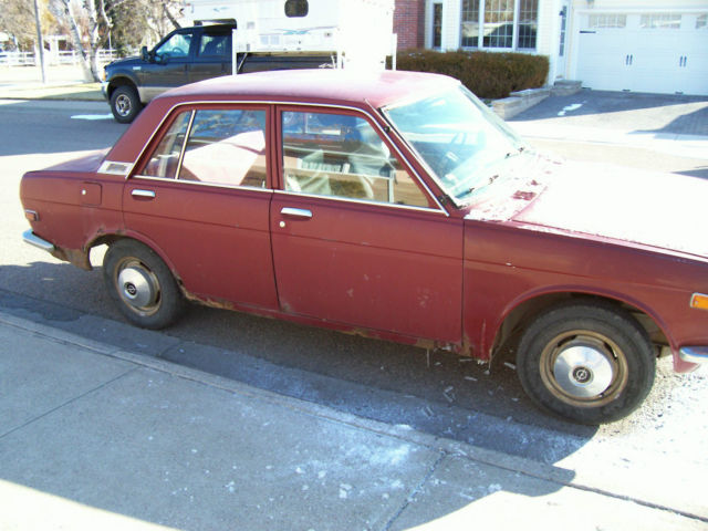 1971 Datsun 510 Bluebird 4 door - Classic Datsun Other ...