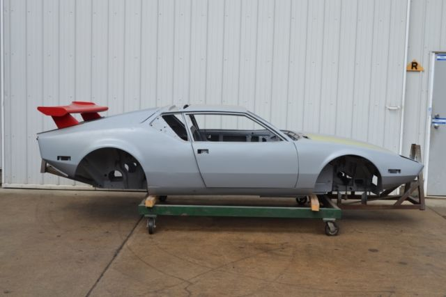 1971 Detomaso Pantera Restoration Project Rust Free Body
