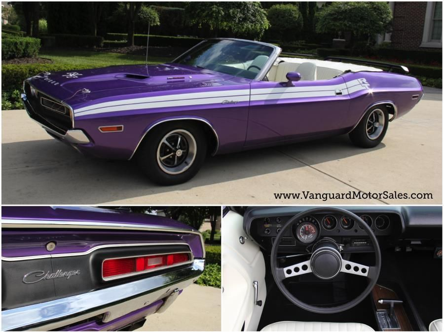 1971 Dodge Challenger Convertible Plum Crazy Restored - Classic ...