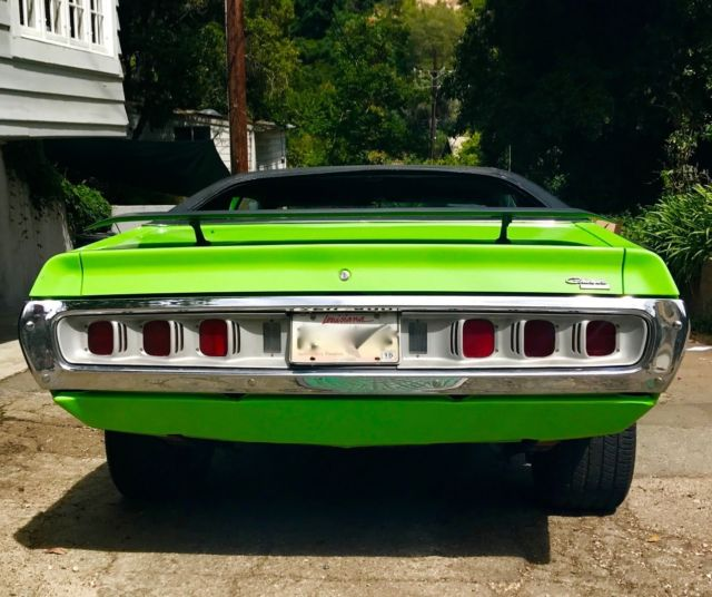 1971 Dodge Charger Green 2 Door V8 Great Condition