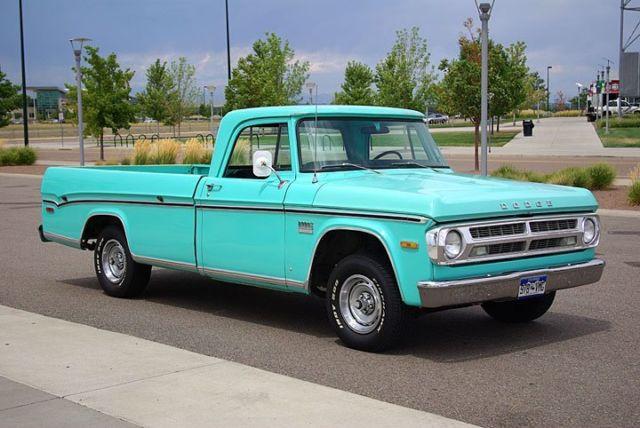 1971 Dodge D100 Custum Cab truck - Classic Dodge Other ...
