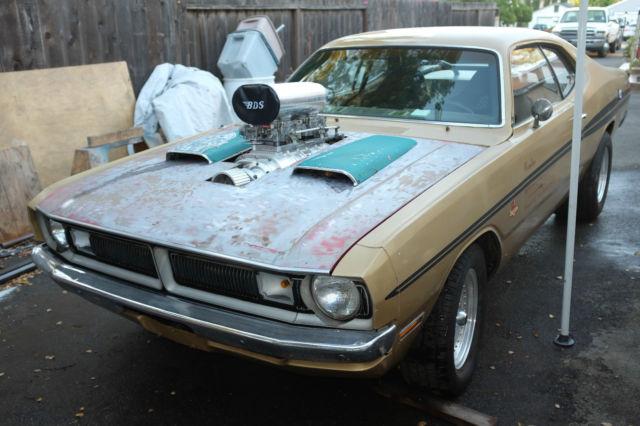1971 dodge demon 440 big block mopar a body easy project for Dodge motors for sale