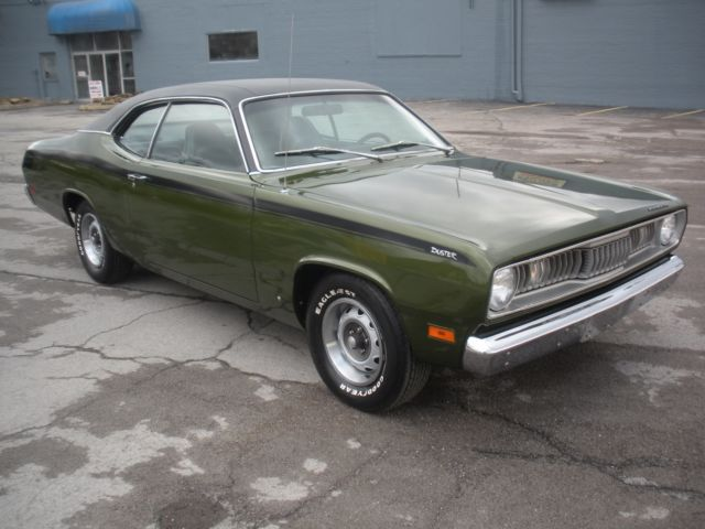 1971 duster 340 4 speed low miles incredible classic plymouth duster 1971 for sale. Black Bedroom Furniture Sets. Home Design Ideas
