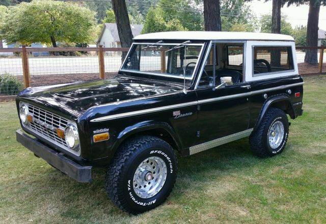 19710000 Ford Bronco Sport
