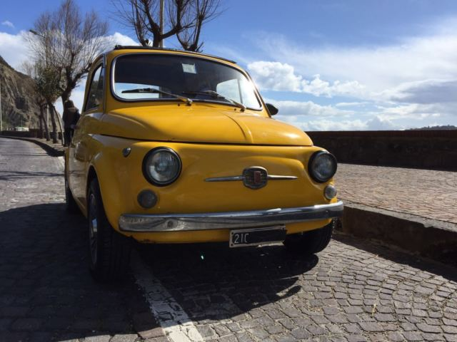 1971 fiat 500 elaborate abarth 700cc engine positano yellow classic fiat 500 1971 for sale. Black Bedroom Furniture Sets. Home Design Ideas