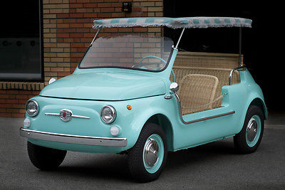 1971 Fiat 500 Restored To Fiat Jolly Specs Classic Fiat Other