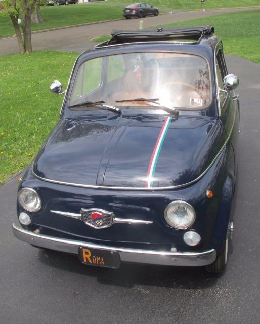1971 Fiat 500F CLASSIC VINTAGE CAR