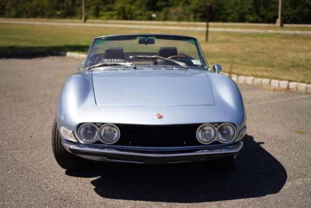 1971 Fiat Dino Spider Bare Metal Restoration Ferrari Lamborghini