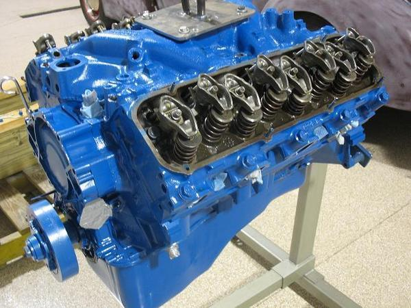 1971 Ford 429 Motor  030 Forged pistons Engine Completely Rebuilt 0
