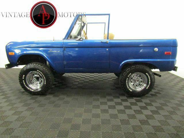 1971 FORD BRONCO UN CUT SOFT TOP 4X4! - Classic Ford ...