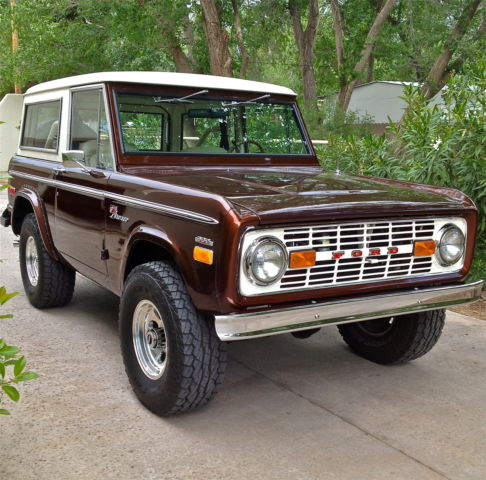 1971 Ford Bronco W Factory 302 Automatic A C Power