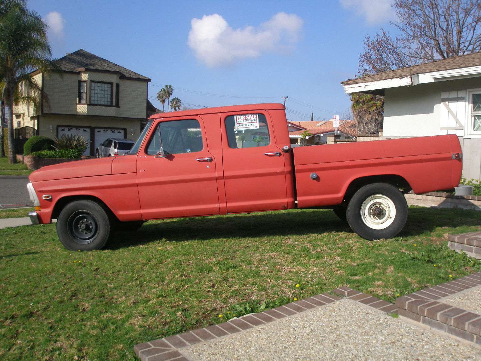 1971 ford f 250 4 door crew cab 390 f250 classic ford f 250 1971 for sale. Black Bedroom Furniture Sets. Home Design Ideas