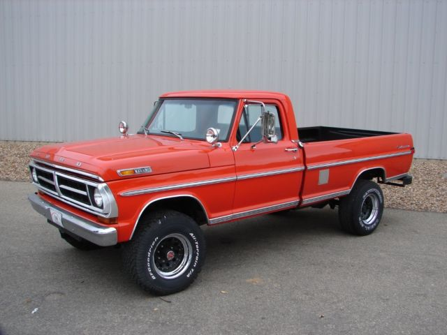 1971 Ford F250 For Sale | Autos Post