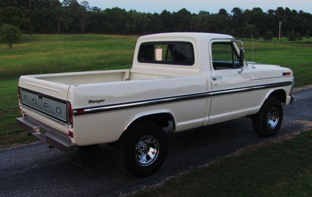 1971 ford f100 ranger swb 4x4 truck pwr air frame off build 1974 Ford 4x4 Pickup prevnext