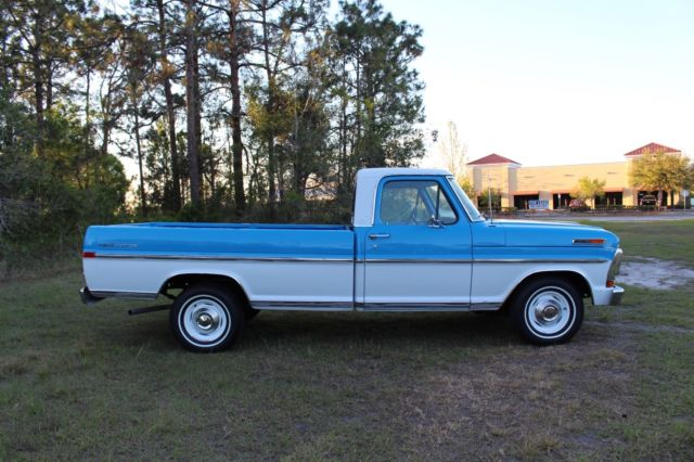 1971 ford f100 sport custom styleside pickup truck explorer package 70 pictures classic ford. Black Bedroom Furniture Sets. Home Design Ideas