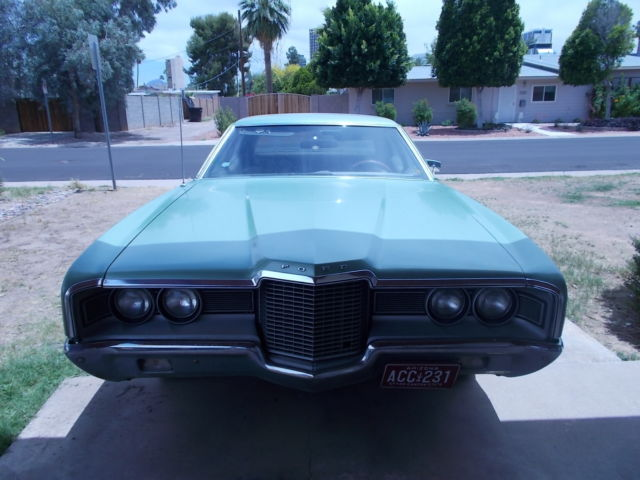 Wrecked Cars For Sale >> 1971 Ford Galaxie 500 Base 5.8L 351 Last registered 1980 ...