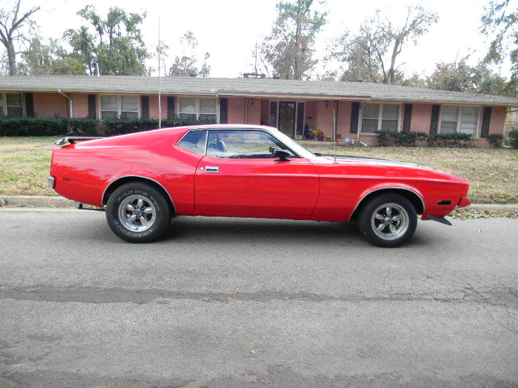 1971 Ford Mach 1 Mustang 351 Cleveland Red Black Runs And For Sale