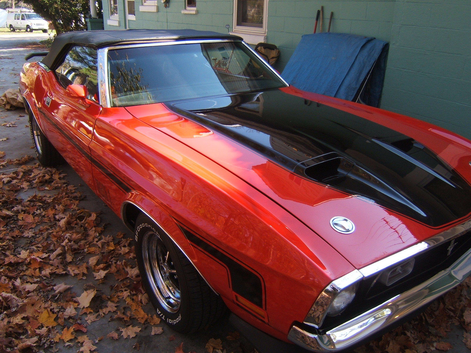 """1971 Ford Mustang """"Mach 1 Clone"""" Convertible 302 auto ..."""