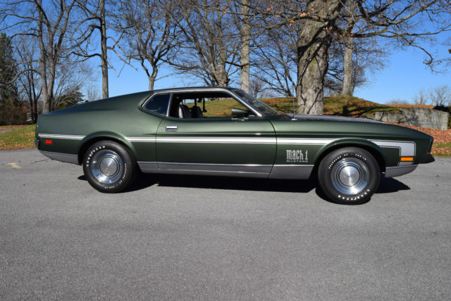1971 ford mustang mach 1 429 cobra jet ramair 4 speed. Black Bedroom Furniture Sets. Home Design Ideas