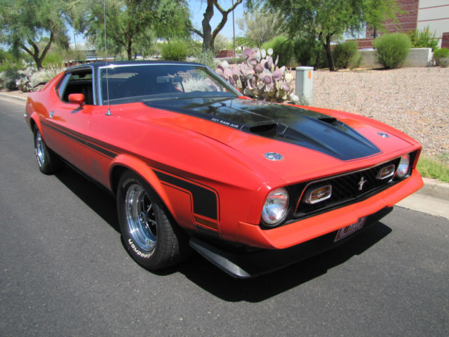 1971 Ford Mustang Mach I Sport Roof Clone Classic Ford