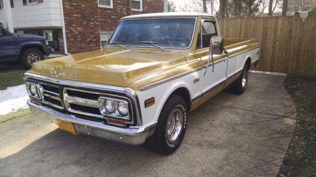 1971 Gmc Sierra Pickup Truck Not Chevrolet Cheyenne