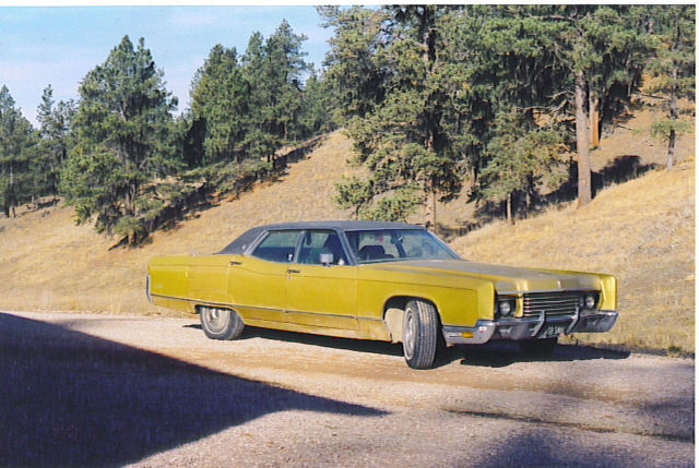 1971 Gold Jubilee Edition Classic Lincoln Town Car 1971 For Sale