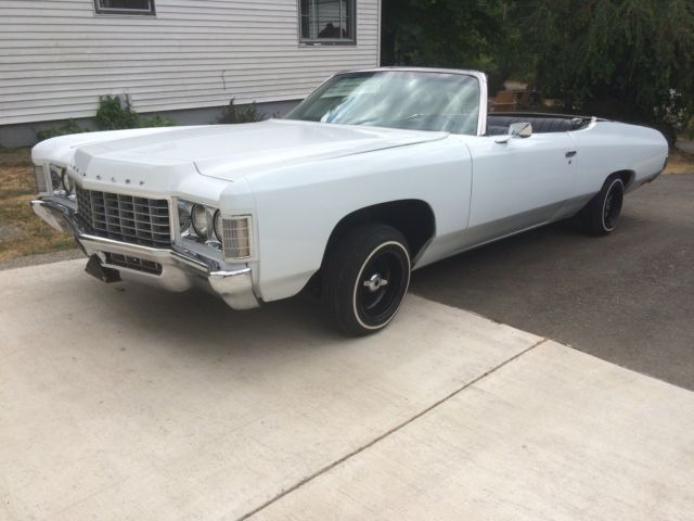 1971 impala convertible classic chevrolet impala 1971 for sale. Black Bedroom Furniture Sets. Home Design Ideas