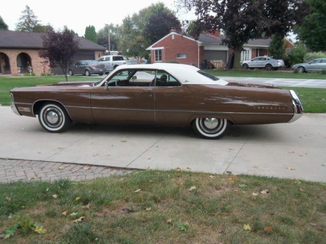 1971 Imperial Lebaron 2 Door Hardtop Rare Sunroof Survivor