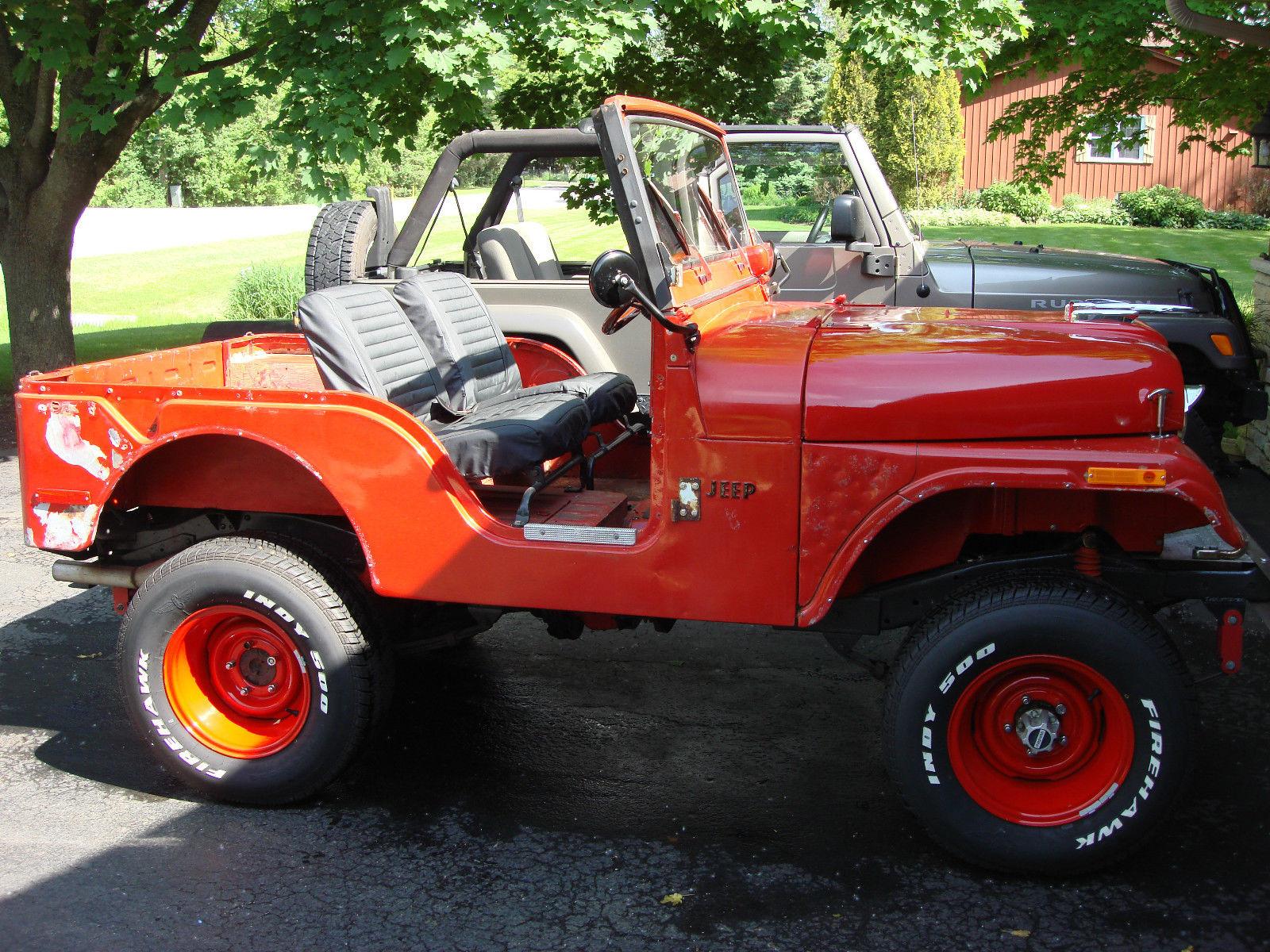 1971 Jeep Cj5 Hotrod Ratrod 302v8 Auto 4x4 With Factory