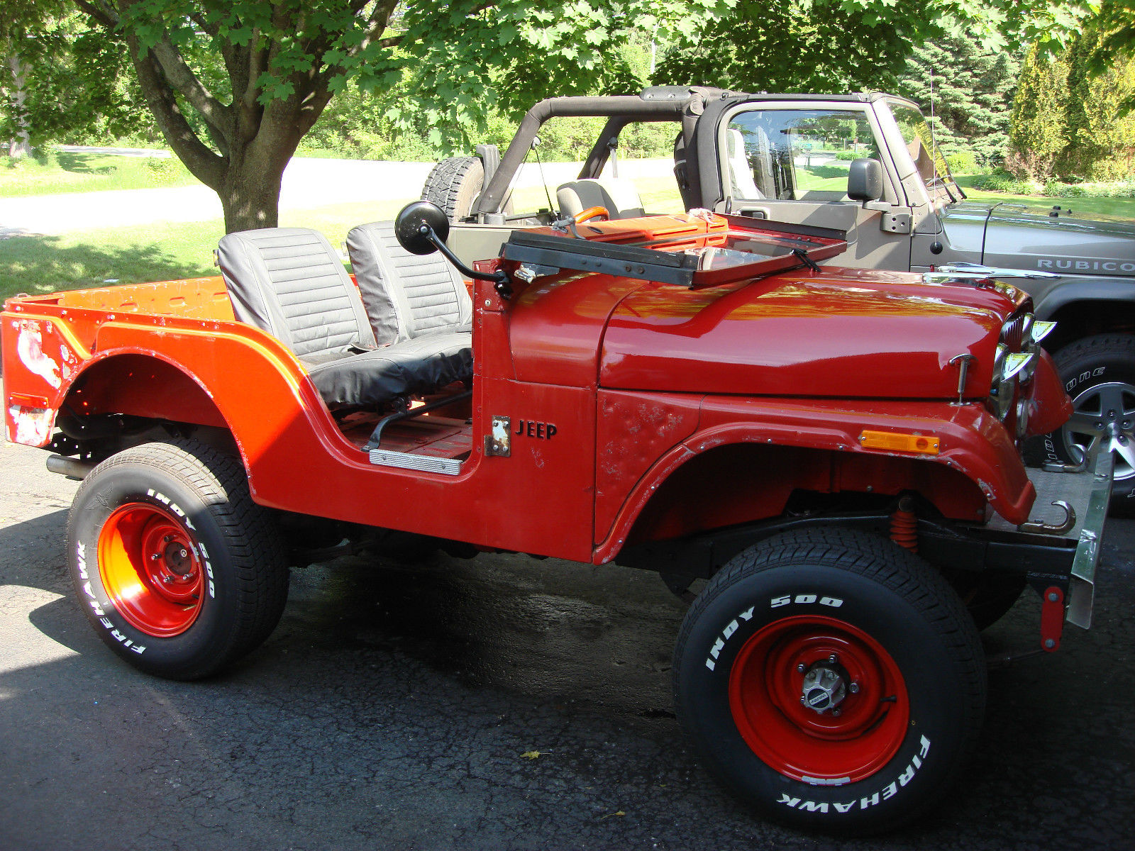 1971 jeep cj5 hotrod ratrod 302v8 auto 4x4 with factory hardtop classic jeep cj 1971 for sale. Black Bedroom Furniture Sets. Home Design Ideas