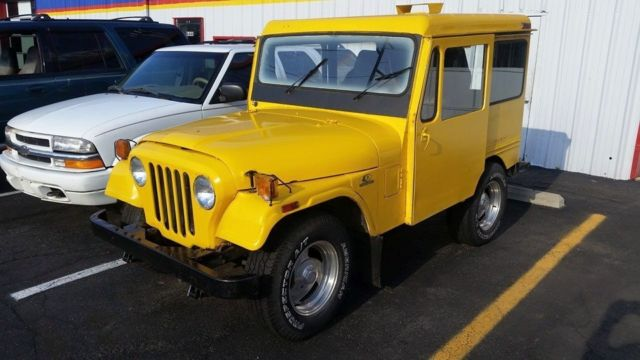 1971 jeep dj5 postal runs but needs work no reserve not cj7 cj5 cj6 classic jeep cj 1971 for sale. Black Bedroom Furniture Sets. Home Design Ideas
