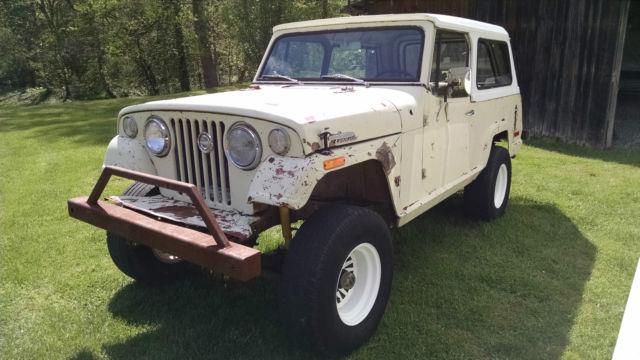 1971 Jeepster Commando 4x4 Jeep C101 Cj Lifted On 31 S