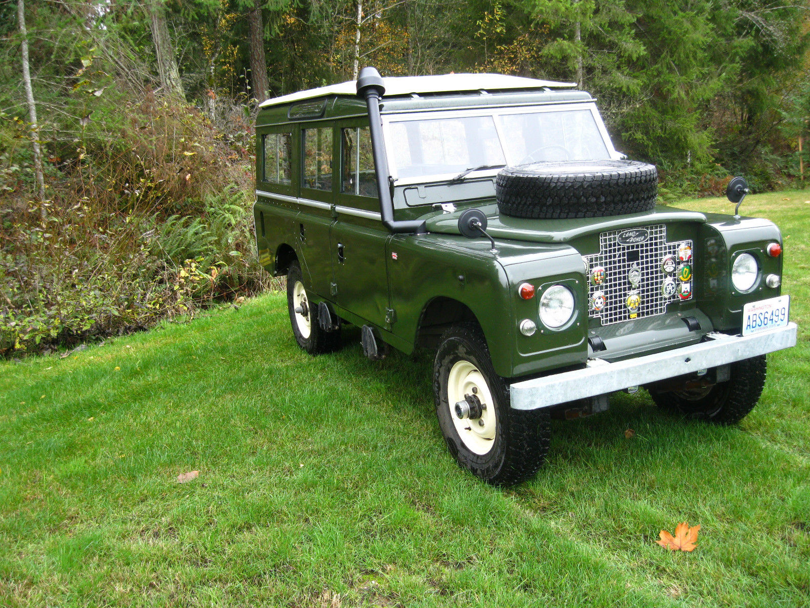 1971 LAND ROVER Series IIA Safari Station Wagon ...