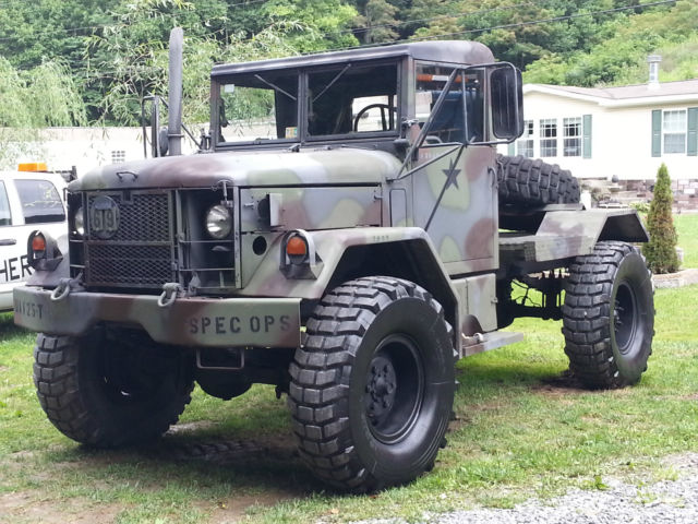 1971 M35A2 Military Truck Bobbed 2 5Ton Jeep Duece - Classic Jeep