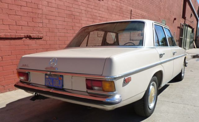 1971 mercedes 250 los angeles california original owner for Los angeles mercedes benz