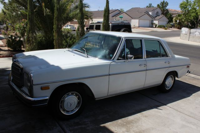 1971 mercedes 250 no reserve price classic mercedes benz for Mercedes benz tune up cost