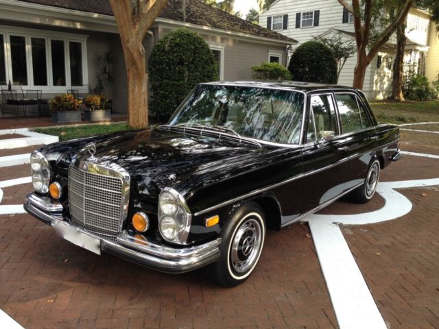 1971 mercedes 280 se w108 floor shift in perfect for Mercedes benz w108 for sale