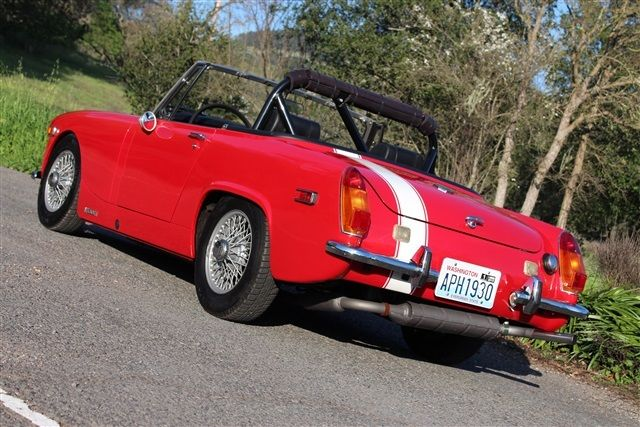 Something mg midget 5 speed tran assured, what