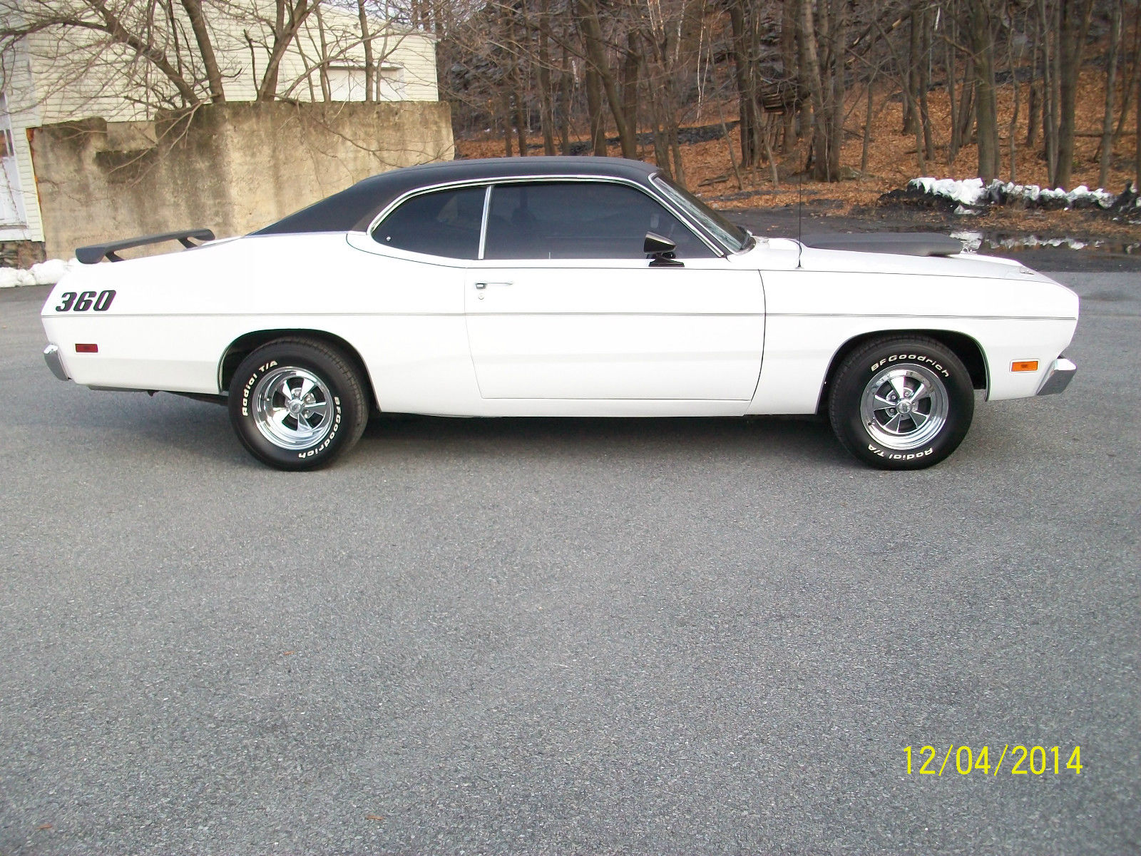 1971 mopar plymouth duster hot rod muscle car 360 crate v8 4 speed posi rear classic. Black Bedroom Furniture Sets. Home Design Ideas