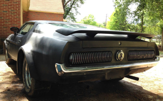 Mustang Mach Chopped Top Cougar Tail Lights Old School Custom Hot Rod