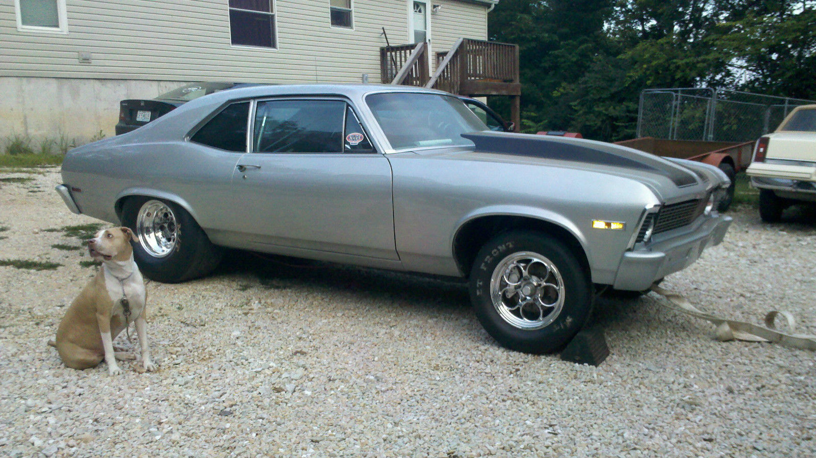 1971 Nova 10 5 Tire Rolling Chassis Classic Chevrolet