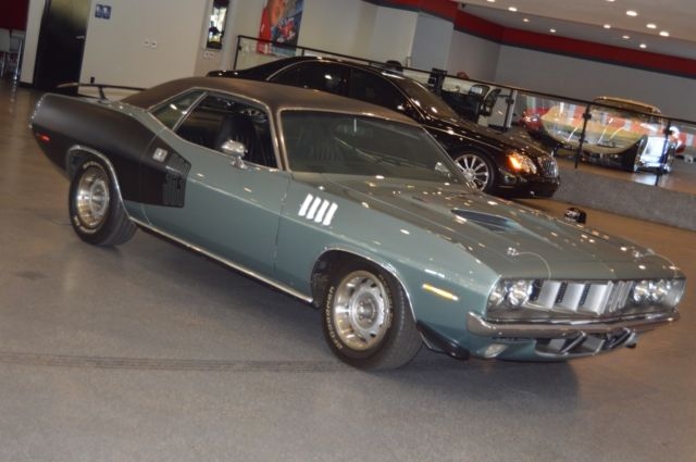 1971 Plymouth Barracuda Quot Cuda Quot With A 383 Winchester Gray
