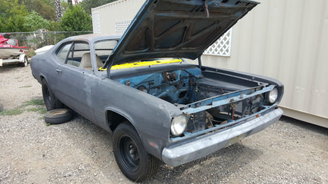 1971 plymouth duster show drag car build rolling chassis classic