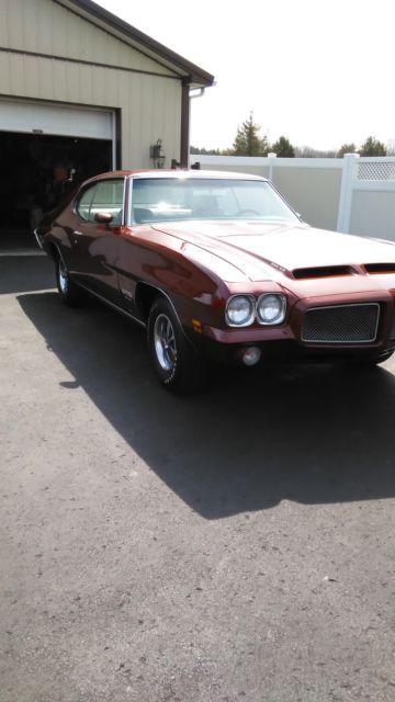 1971 Pontiac Gto 455 Ho Classic Pontiac Gto 1971 For Sale