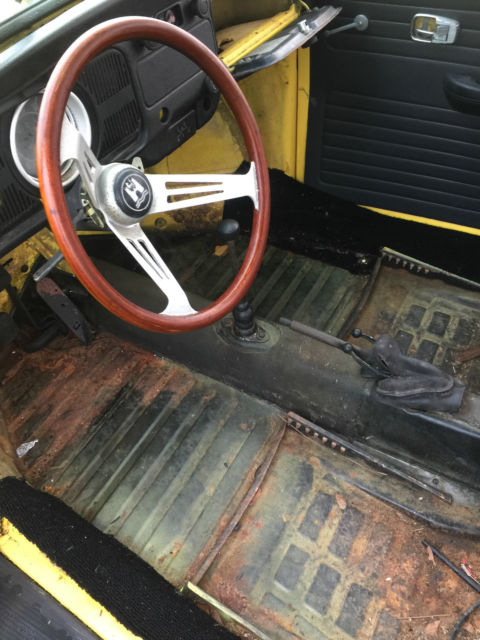 1971 SUPER BEETLE CONVERTIBLE FLAT WINDSHIELD - Classic Volkswagen Beetle - Classic 1971 for sale