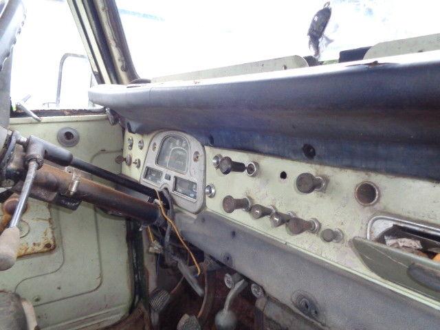 1971 Toyota Land Cruiser 3 Speed 6 Cylinder N C Title Runs Good 34 000 Miles Classic
