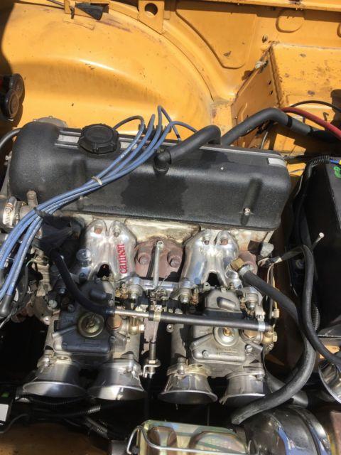 1971 triumph tr6 whit datsun 510 2 0l engine swap
