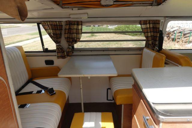 1971 VW Bus Van Westfalia Camper Custom Interior & Paint